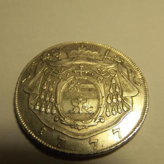 Талер Зальцбург 1777 серебро