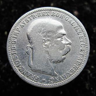 1 корона 1893 год.Серебро.Оригинал.