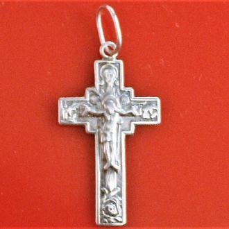 Крестик серебро 925 проба 1,53 грамма