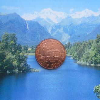 """США 1 цент 2009 года/""""D"""""""