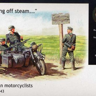 Master Box 3539 German motorcyclists, 1940-1943