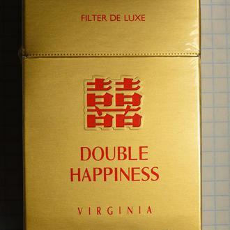Сигареты DOUBLE HAPPINESS твердая пачка