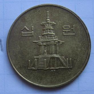Южная Корея, 10 вон 1995 года.