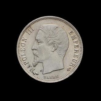50 Центов 1859 ВВ Наполеон ІІІ,(100) Франция СОХРАН!