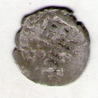 Крымское Ханство акче серебро 16-17 век В778