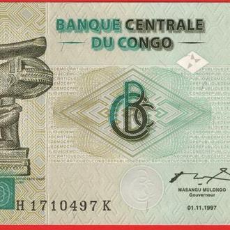 10 Франков 1997,(6) Конго UNC