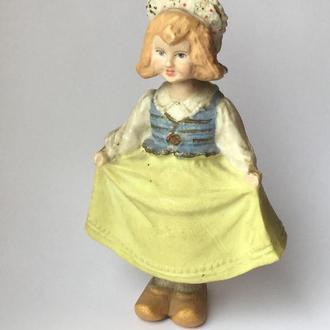 Золушка.  Винтажная кукла-качалка.