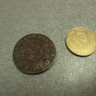 монета 2 гроша 1768 год станислава августа №1