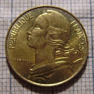 Франция, 10 сентим 19721996