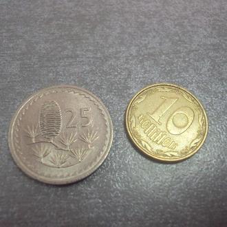 монета кипр 25 центов 1980 сохран №1032