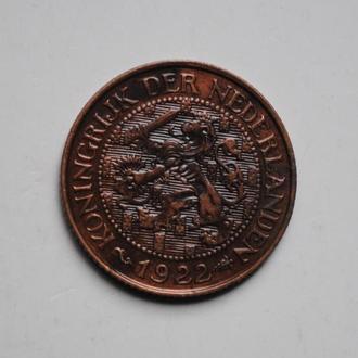 Нидерланды 1 цент 1922 г., СОСТОЯНИЕ