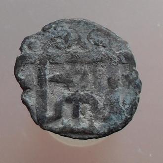 Золотая Орда. Абдаллах, именной пул с изображением тамги (1)