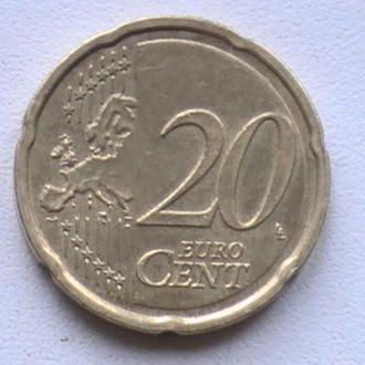 20 Евроцентов 2015 г Литва 20 Центов 2015 г 20 Євроцентів 2015 р Литва 20 Центів 2015 р