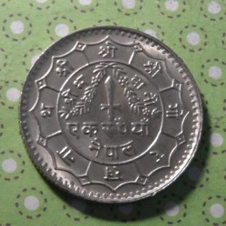 Непал монета 1 рупия !