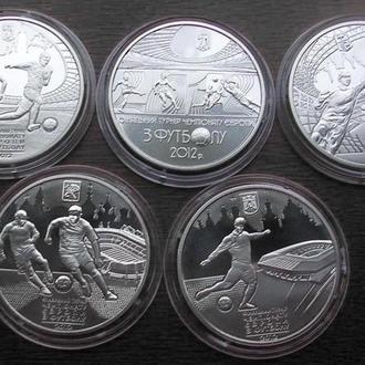 Набор Евро 2011 год / Євро набір монет 2012