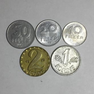 Набор монет Венгрии