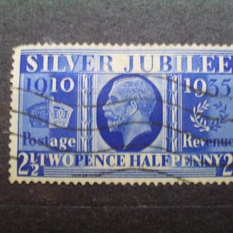 Великобритания.1935г. Король Георг V. Концовка серии. КЦ 6.00 евро!