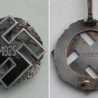 Знак , в память о партийном съезде NSDAP