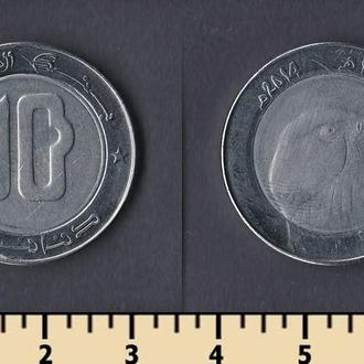 Алжир 10 динар 2014