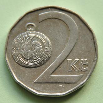 (А) Чехия 2 кроны, 1993