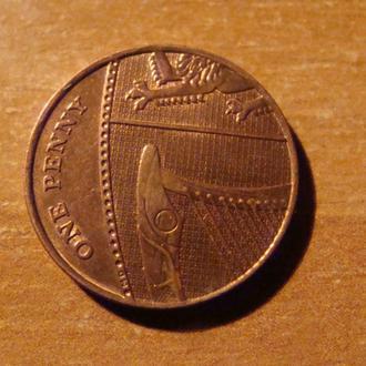 Великобритания 1 пенни 2008 (2)