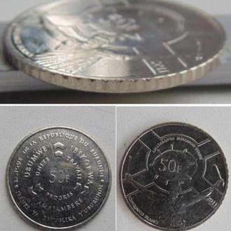 Бурунди 50 франков, 2011