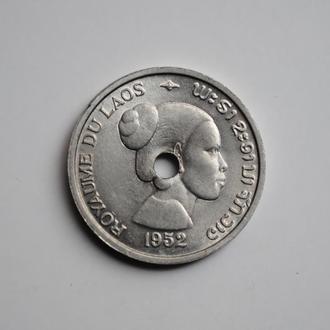 Лаос 10 сантимов 1952 г., BU, 'Королевство Лаос (1952 - 1955)'