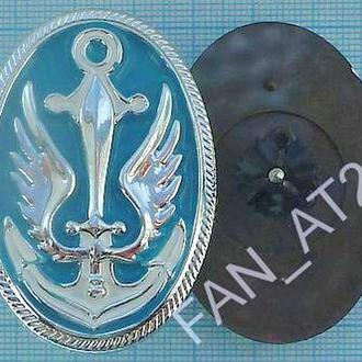 Кокарда на берет ВМС Украины. Флот. Морская пехота.