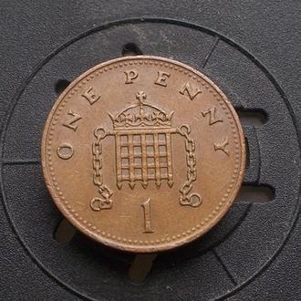 Великобритания 1 пенни 1988