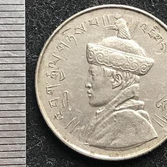 Бутан 1/2 рупии 1950