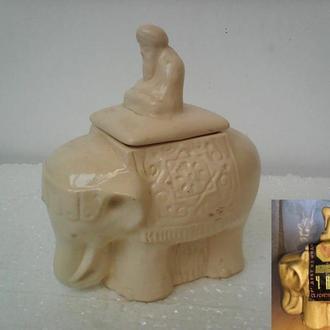 Чайница, слон, керамика Индия