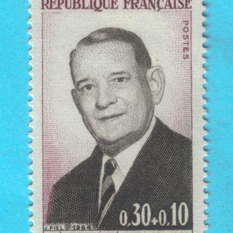 Франция Ми 1465, 1964 год MNH!