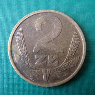 Польша 2 злотых 1986