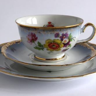 Чашка блюдце тарелка Winterling фарфор Germany Fv8