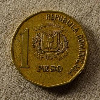 Доминиканская республика, 1 песо 2000 года (221)