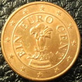 1 евроцент Австрії 2011