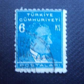 Турция 1931-38г.гаш.