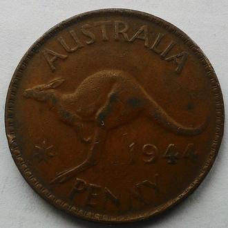 Австралия 1 пенни 1944 год