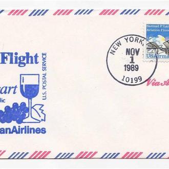 Авиация . США / USA 1989 г КПД -