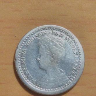 Нидерланды, 1919 г., 10 центов