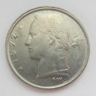 Бельгия 1 франк, 1977