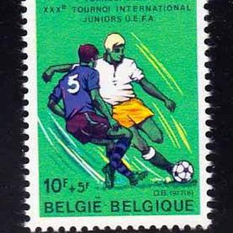 Футбол. Бельгия 1977 г MNH -