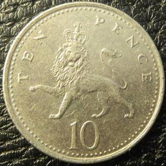 10 пенсів 2001 Британія