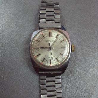 часы наручные с браслетом мужские Ракета 24 часа ссср не на ходу, баланс живой №3083