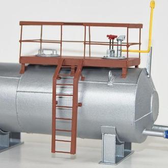 Масштабная модель емкости резервуара 1/43 1/36