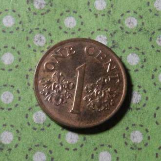 Сингапур 1995 год монета 1 цент !