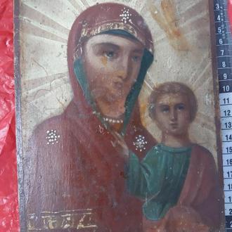икона Казанская Б.М.