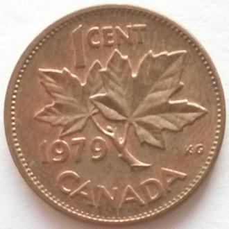 (1) Канада 1 цент 1979