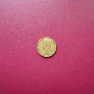 Мадагаскар 10 франков 1953 Редкая