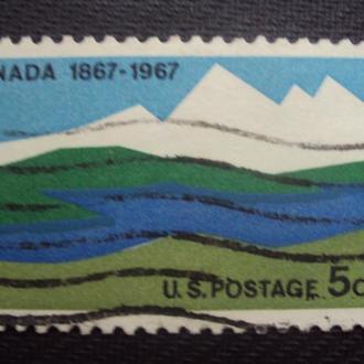 Канада 1967г. гаш.